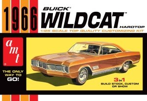 Byggmodell bil - 1966 Buick Wildcat - 1:25 - AMT