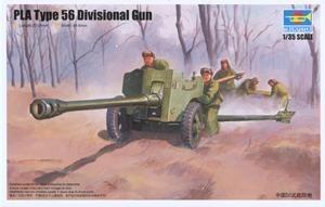 Byggmodell - Chinese 56 Div.al Gun - 1:35 - Trumpeter