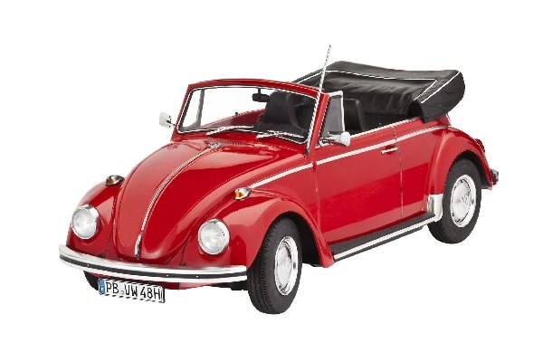 Byggmodell bilVW Beetle Cabriolet 1970 - 1:24 - Revell