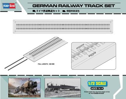 Byggsats Räls - Railway Track set - 1:72 - HobbyBoss