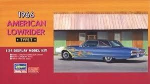 Byggmodell bil - 1966 American Lowrider - 1:24 - Hasegawa