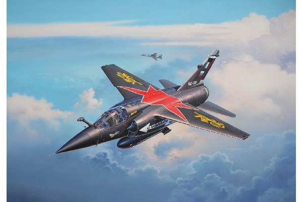 Byggmodell flygplan - Mirage F-1 C / CT - 1:72  - Revell