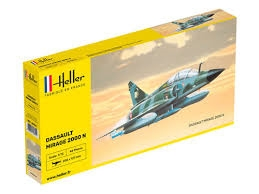 Byggmodell flygplan - MIRAGE 2000N - 1:72 - Heller
