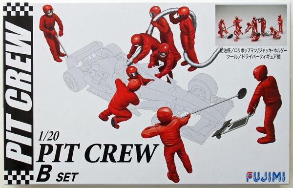 Byggmodell- Pit Crew set B 1:20 Fujimi