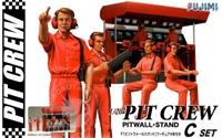 Byggmodell- Pit Crew set C - 1:20 - Fujimi