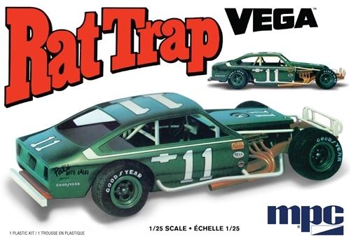 Byggmodell bil - Rat Trap Vega - 1:25 - MPC