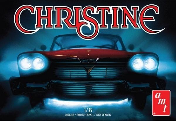Byggmodell bil - 1958 Plymouth Christine Belvedere -1:25 - AMT