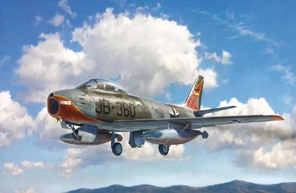 Byggmodell flygplan - F-86E Sabre - 1:48 - Italieri
