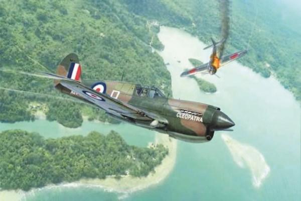 Byggmodell flygplan - P-40E/K Kittyhawk - 1:48 - Italieri