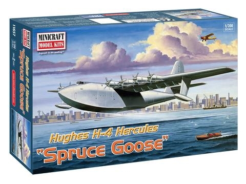Byggmodell Flygplan - Spruce Goose 1:200 MiniCraft