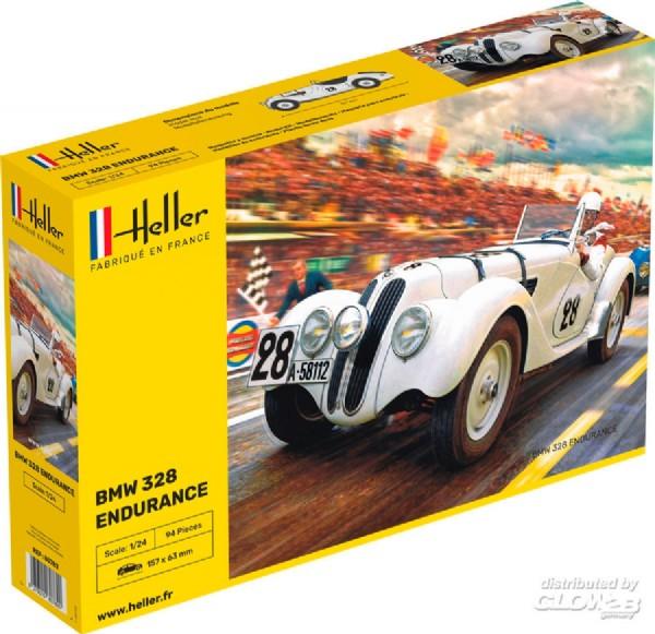 Byggmodell bil - 328 Endurance - 1:24 - Heller