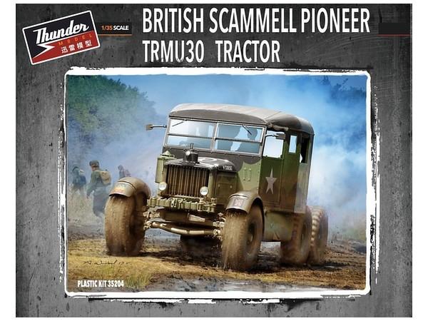 Byggmodell stridsfordon - Scammell Pioneer Trmu30 Tractor 1:35 Thunder Models