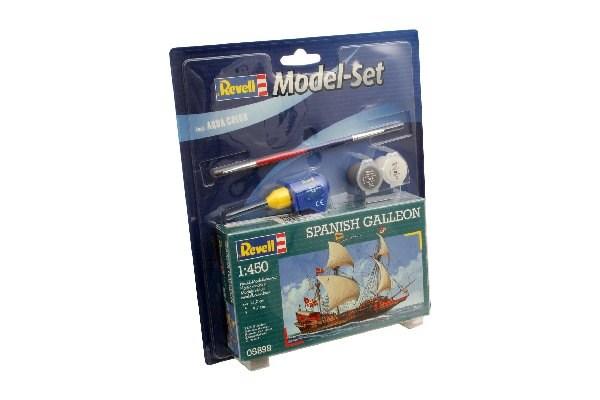 Byggmodell segelfartyg - Model Set Spanish Galleon - 1:450 - Revell