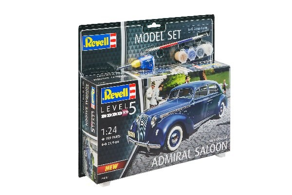 Byggmodell bil - Model Set Luxury Class Car Admiral Saloon - 1:24 - Revell