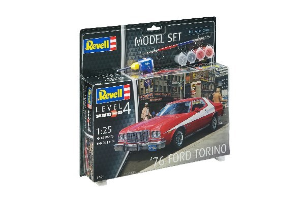 Byggmodell bilar - Model Set '76 Ford Torino - 1:25 - Revell