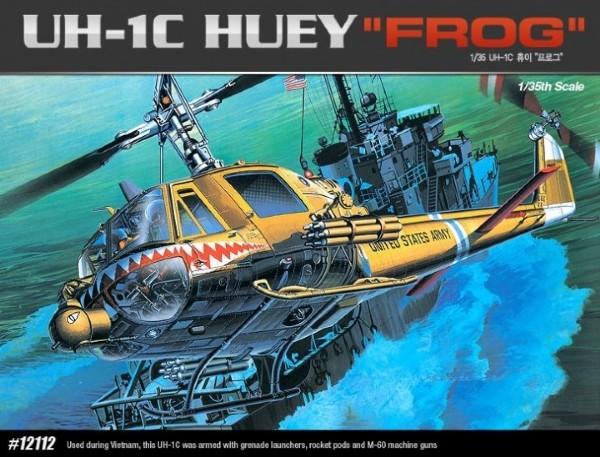 Byggmodell helikopter - UH-1C Huey Frog - 1:35 - Academy