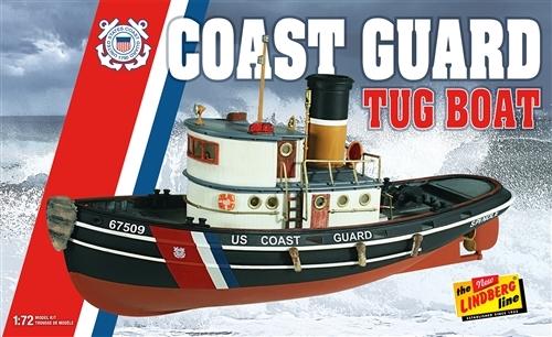 Bygmodell båt - Coast Guard Tug B1926 - 1:72 - Lindberg