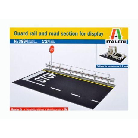 Guard Rail Road Section - 1:24 - Italieri
