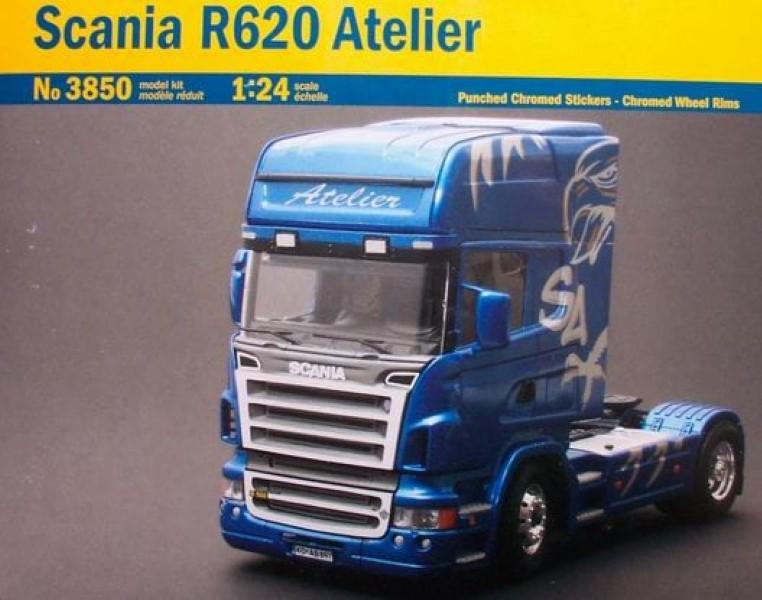 Byggmodell lastbil - Scania R620 Atelier - 1:24 - Italieri