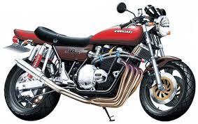 Byggmodell motorcykel - Kawasaki 750Rs Zii Super 1:12 Aoshima
