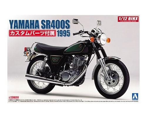Byggmodell motorcykel - YAMAHA SR400S - 1:12 - Aoshima