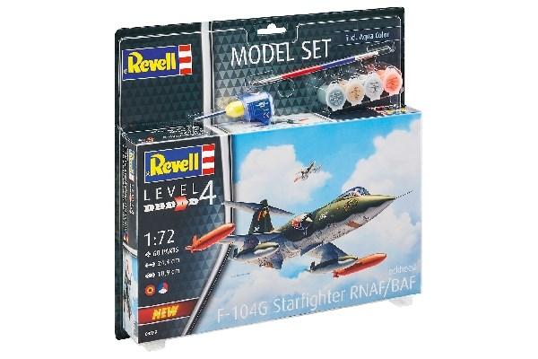Byggmodell flygplan - Model Set F-104 G Starfighter NL/B - 1:72 - Revell