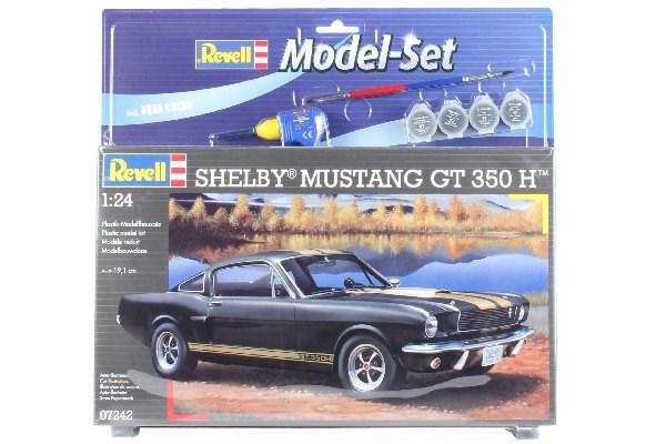 Byggmodell bil - Model Set Shelby Mustang GT 350 - 1:24 - Revll