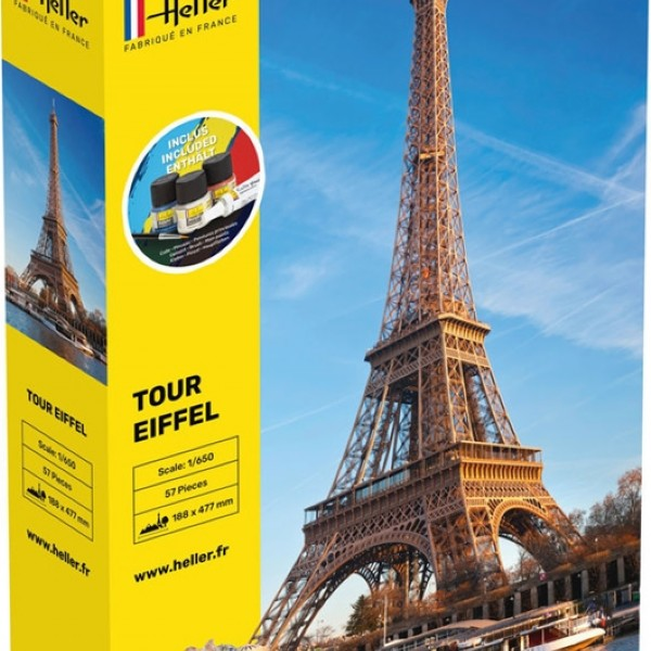 The Eiffel Tower H. 48 cm Complete - 1:650 - Heller