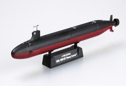 Byggmodell ubåt - SNN-23 Jimmy Carter Attack Sub - 1:700 - HobbyBoss