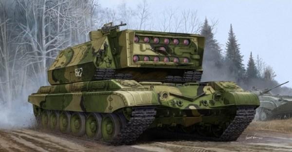 Byggmodell stridsfordon - Soviet 1K17 Szhatie - 1:35 - Trumpeter
