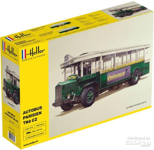 Byggmodell buss - Autobus TN6 C2 - 1:24 - Heller