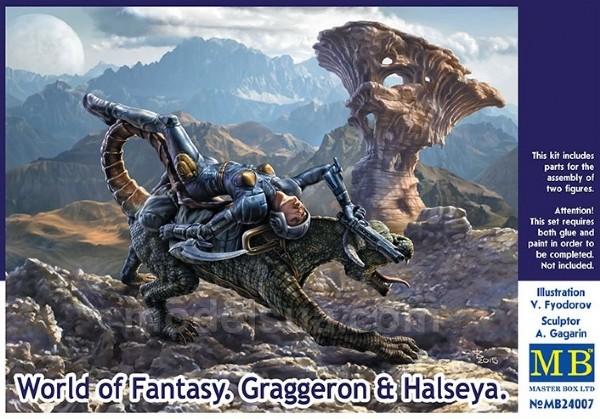 World Of Fantasy. Graggeron och Halseya - 1:24 - MasterBox