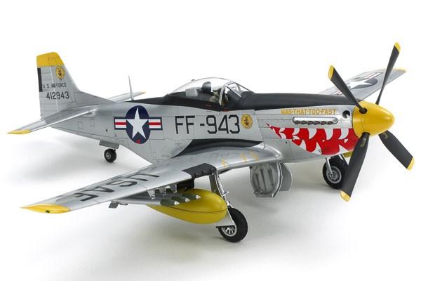 Byggmodell flygplan - North American F-51D Mustang Korean War - 1:32 - Tamiya