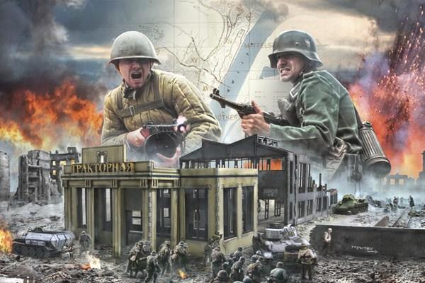 Battleset Stalingrad Factory - 1:72 - Italieri