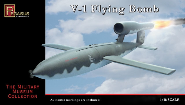 Byggmodell - German V-1 Flying Bomb - 1:18 - Pegasus