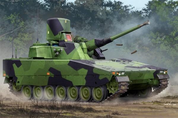 Byggmodell stridsfordon - Lvkv 90 Luftvärnskanon 90 - 1:35 - HobbyBoss