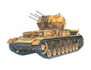 byggmodell stridsfordon - Panzer IV Wirbelwind - 1:35 - Academy
