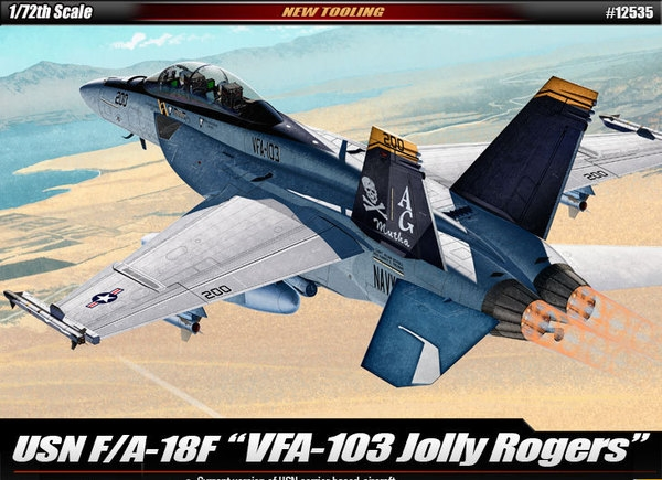 Byggmodell bil - USN VF-103 Jolly Rogers - 1:72 - Academy