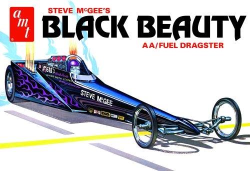 Byggmodell bil - Steve McGee Black Beauty Wedge Dragster - 1:25 - AMT