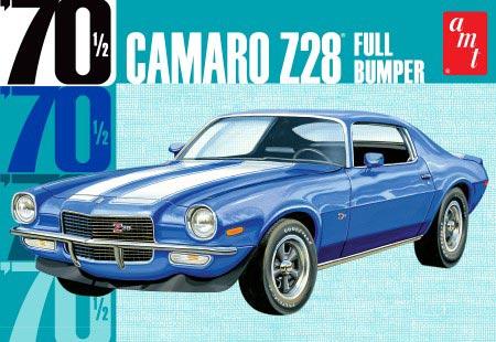 Byggmodell bil - 1970 Camaro Z28 Full Bumper - 1:25 - AMT