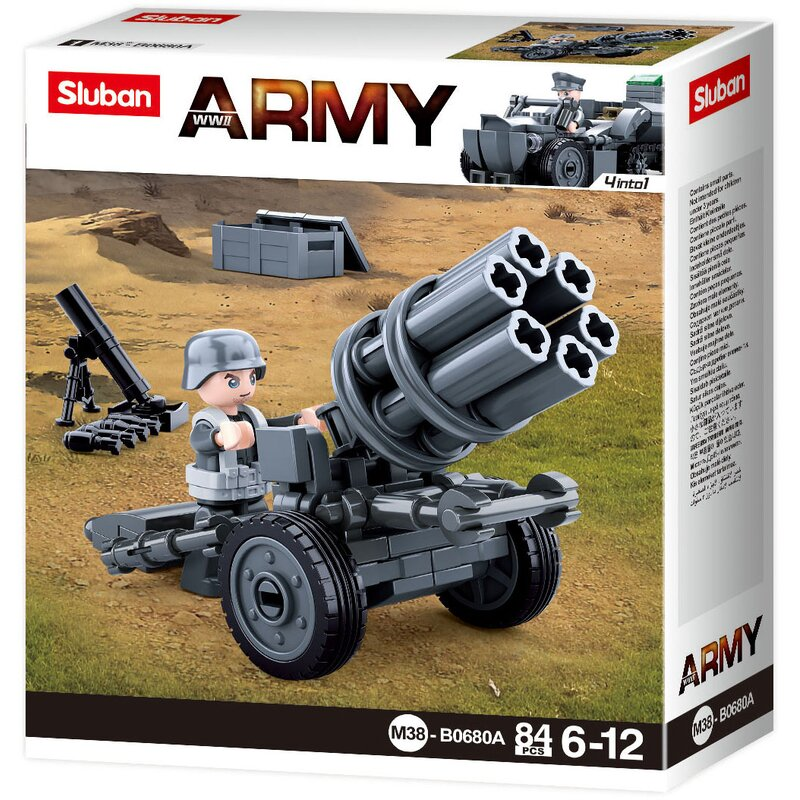 Rocket Gun B0680A - byggklossar - Sluban