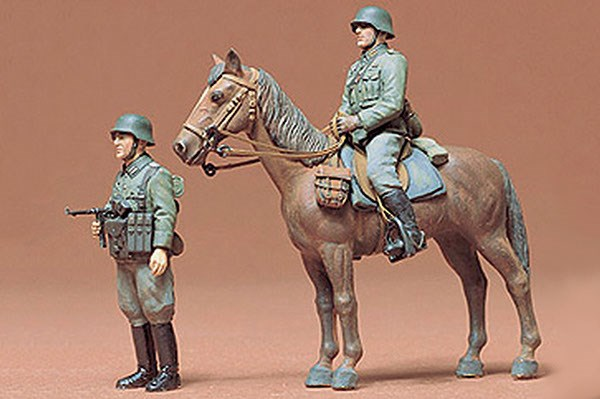 German Mounted Infantry 1:35 Tamiya