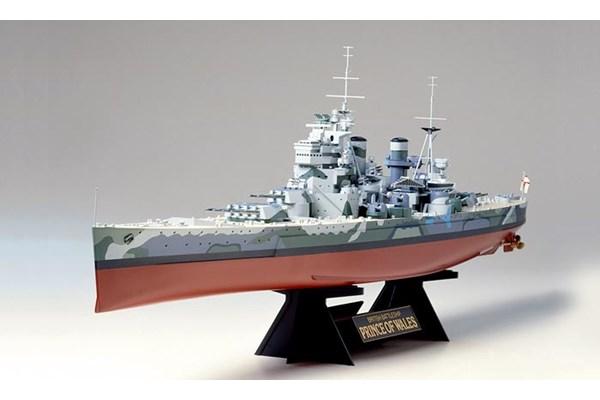 Byggmodell krigsfartyg -  Prince of Wales - 1:350 - Tamiya