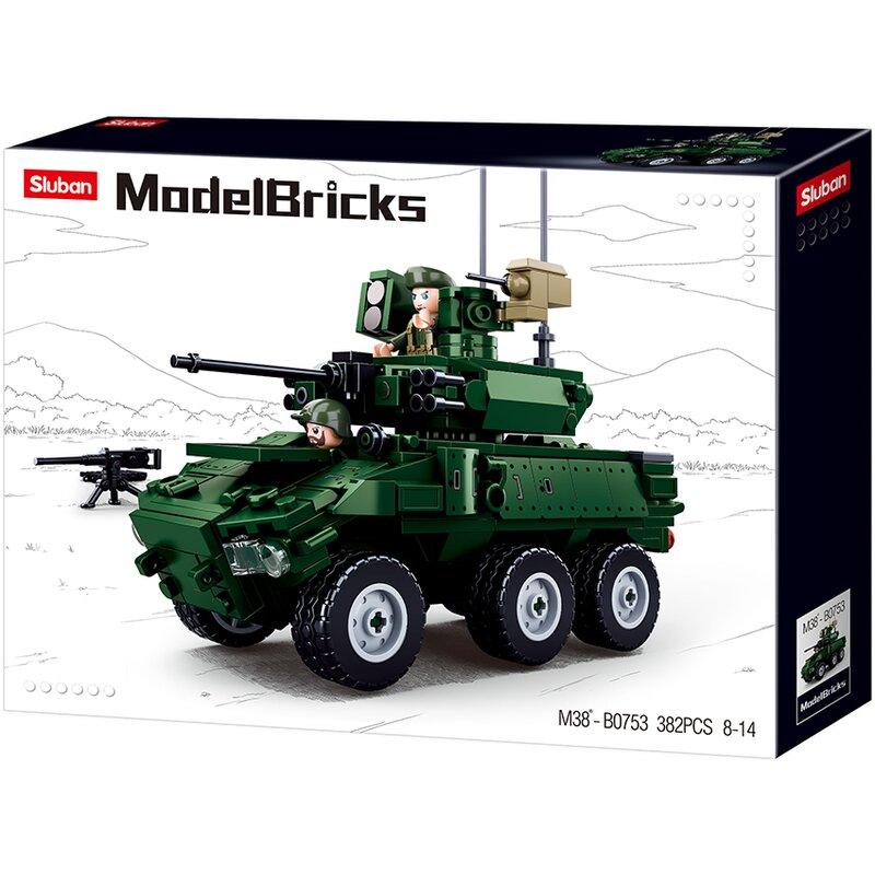 Armoured Vehicle B0753 - Byggklossar - Sluban