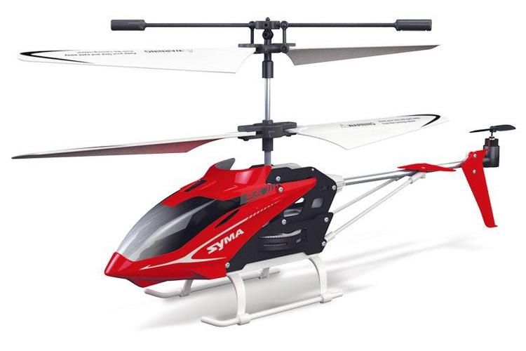 Radiostyrd helikopter - Syma Speed S5 - Röd - 3,5ch - RTF