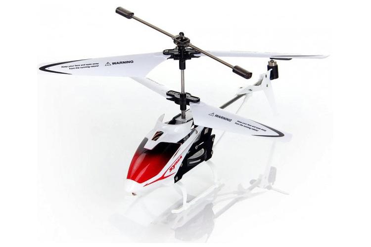 Radiostyrd helikopter - Syma Speed S5 - Vit - 3,5ch - RTF