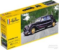 Byggmodell bil - Citroen 11 CV - 1:43 - Heller