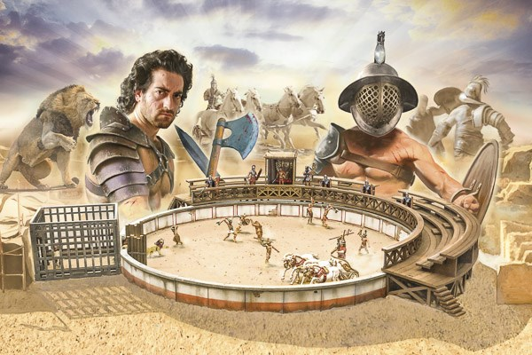 Battleset: Gladiators Fight - 1:72 - Italieri