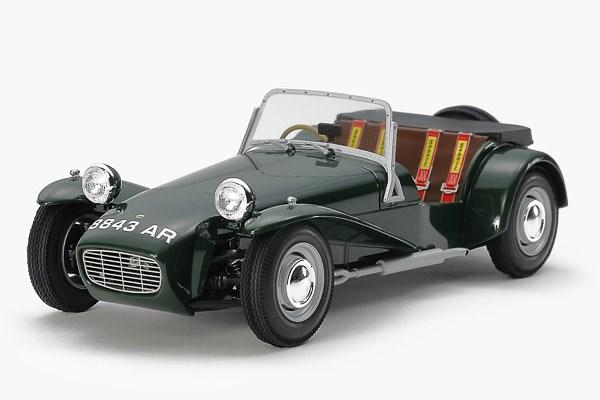 Byggmodell bil - Lotus Super 7 Series II - 1:30 - Tamiya