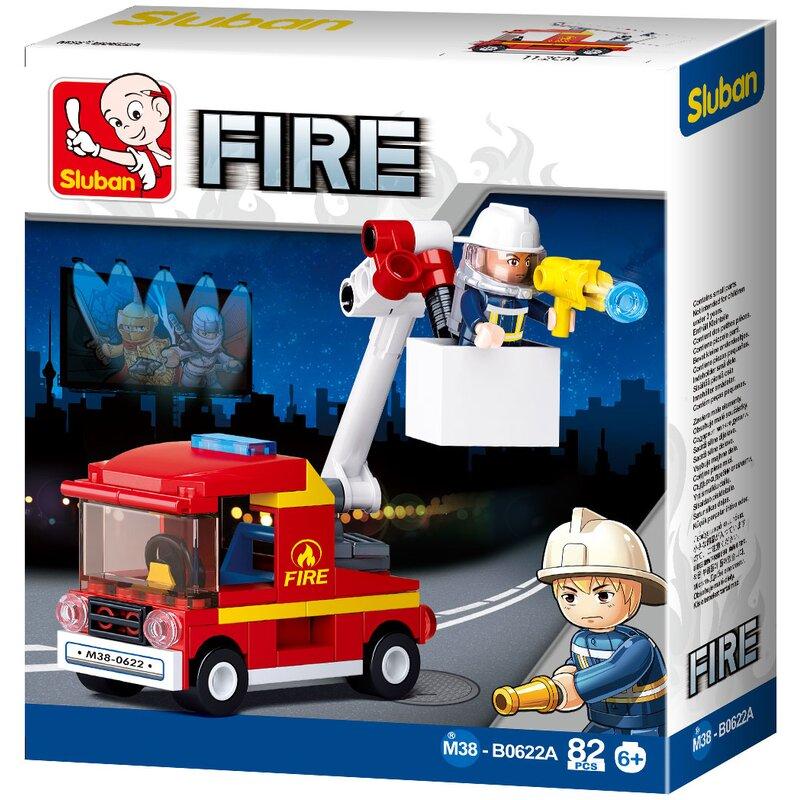 Fire Brigade Truck - B0622A - Sluban
